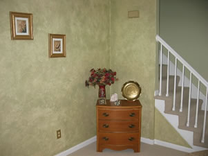 How To Sponge Paint A Room Kennedy Painting