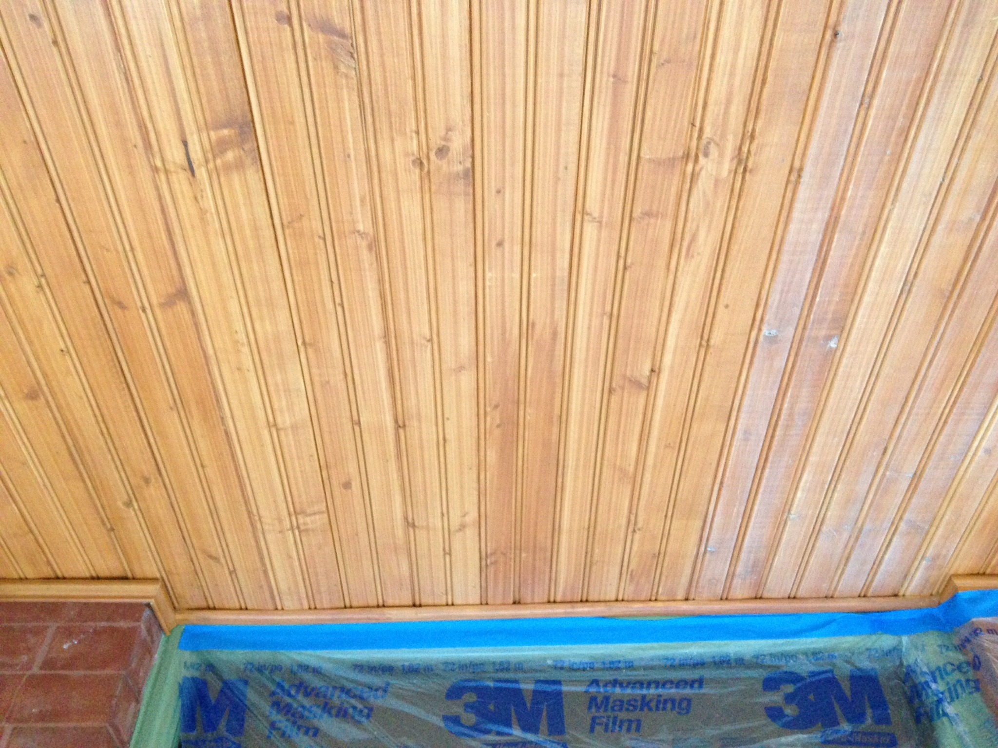 Front Porch Ceiling Re Painting In