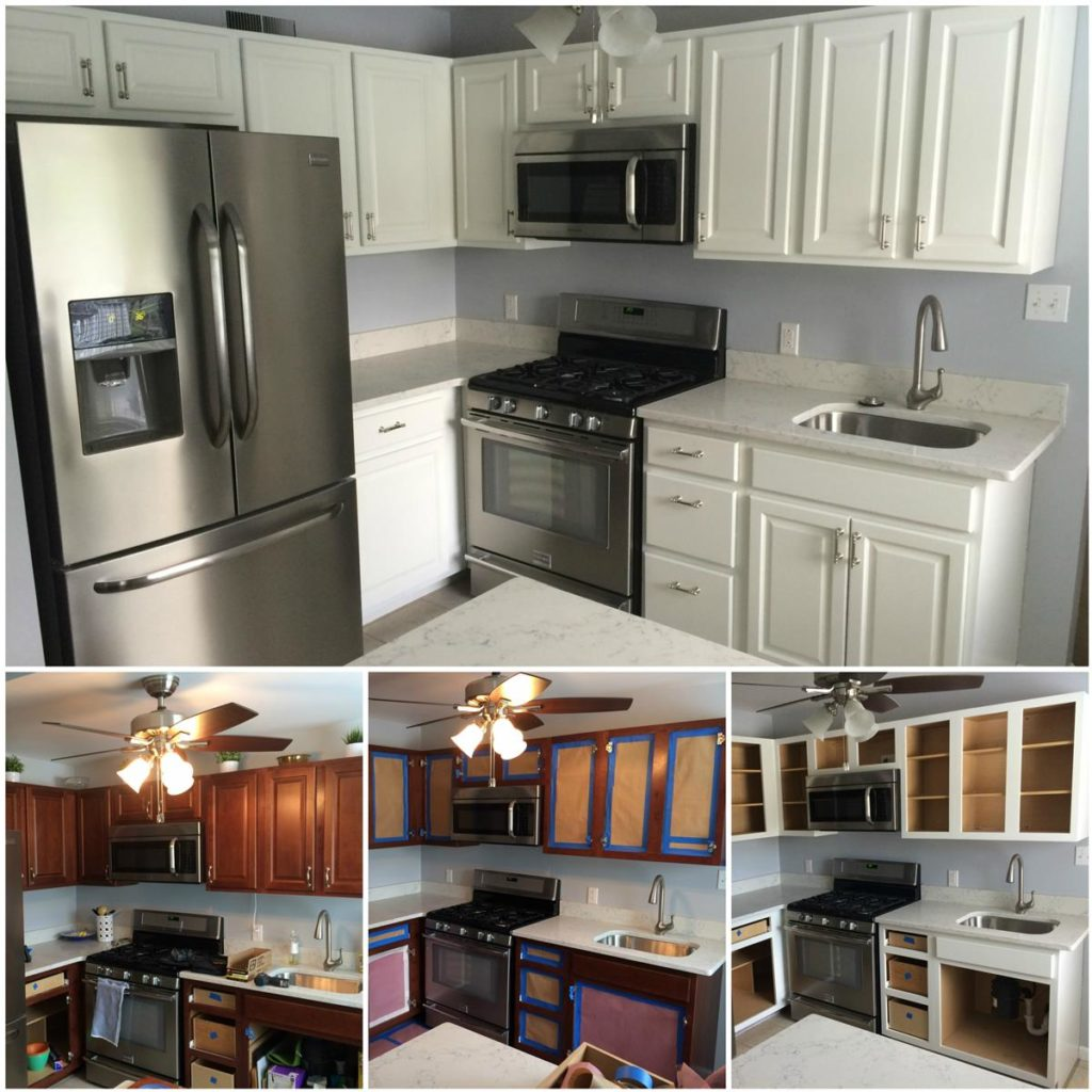 Kitchen Cabinets St Louis Cabinet Refinishing Kennedy Painting