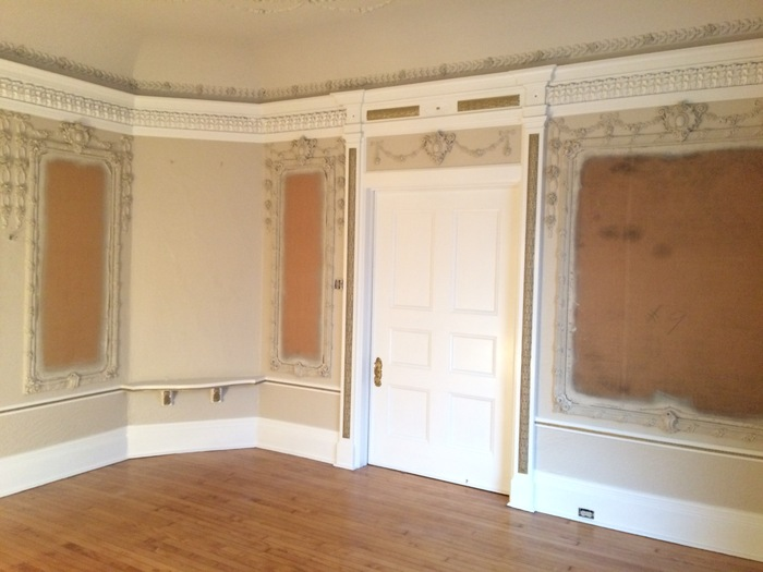 Interior Paint and Plasterwork in St. Louis City's Central West End