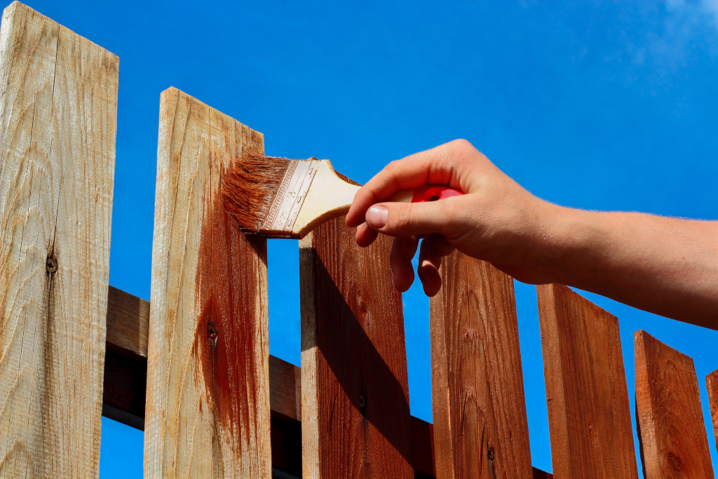 Should I Paint Or Stain My Fence Tips For Glendale Mo
