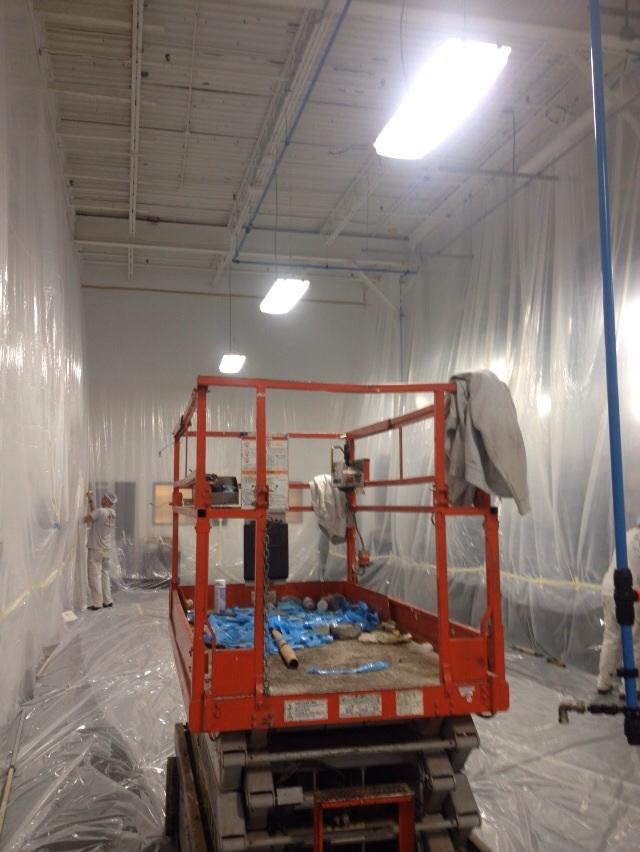 Commercial Painter Dry Fall Paint St. Louis Missouri
