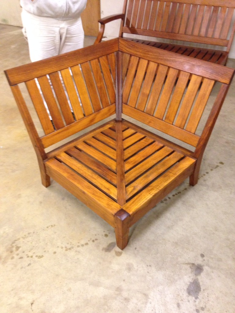 Oil Refinish Patio Furniture Ladue Missouri