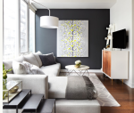 painting with black interior paint