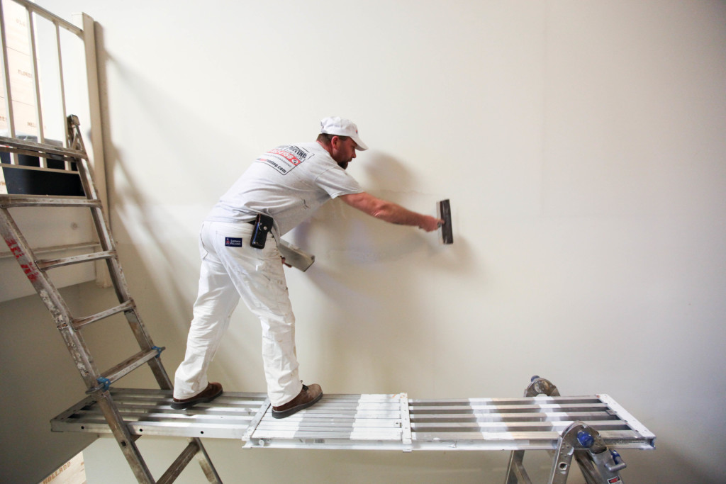 interior commercial painting in st. louis