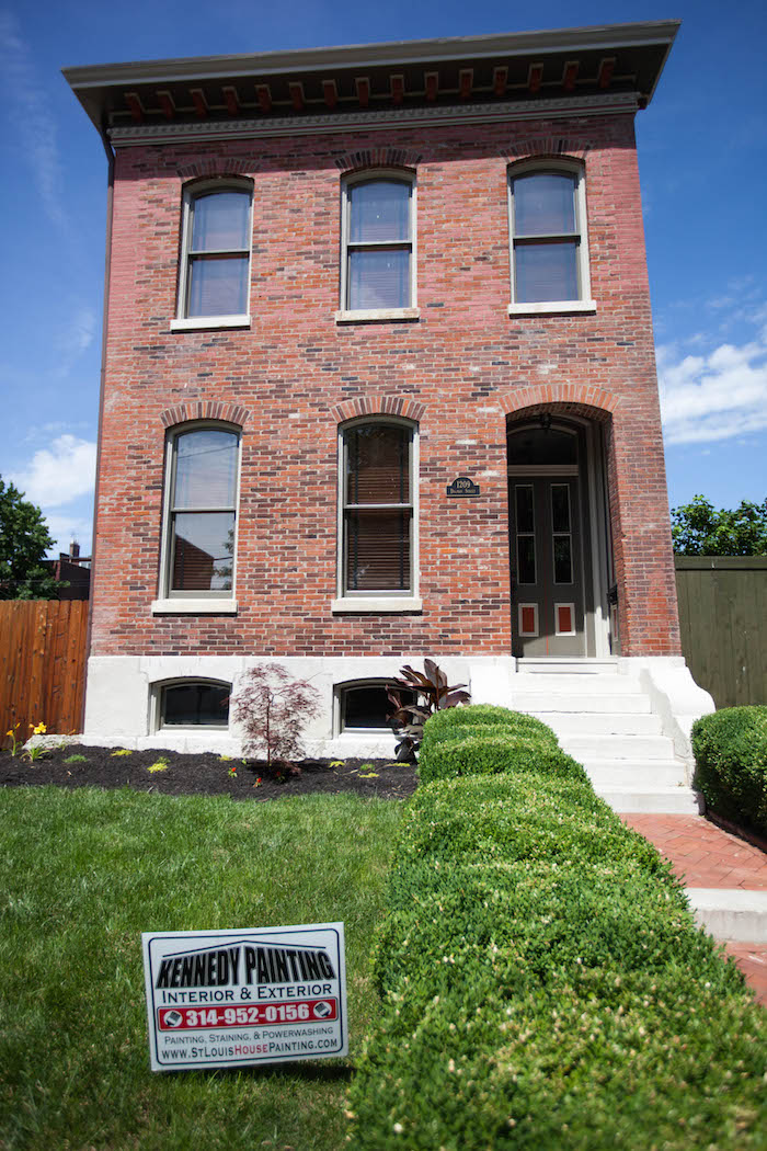 Refreshing A Historic St Louis Home With Exterior Paint Kennedy Painting