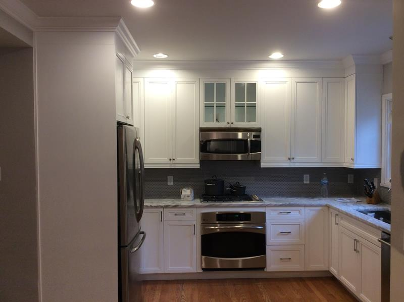 How do you clean painted kitchen cabinets kennedy painting - Cleaning inside kitchen cabinets ...