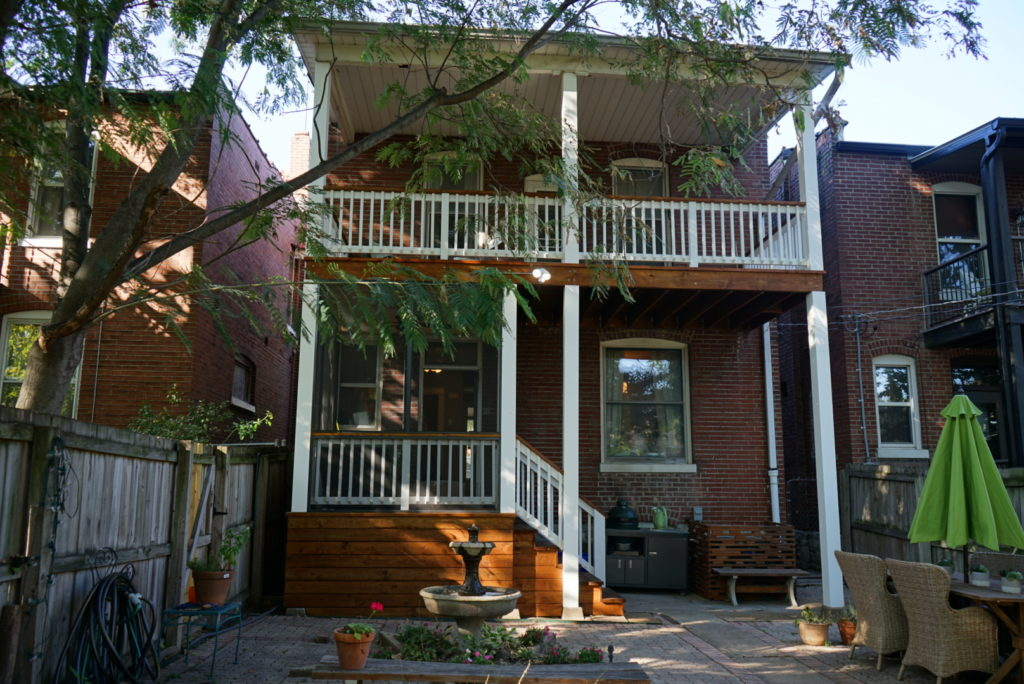 exterior painting and staining in St Louis