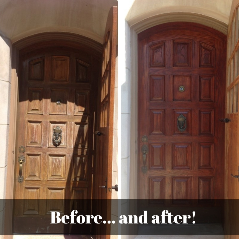 Paint Or Stain Your Front Door